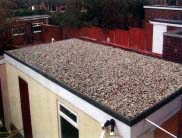 ballasted roof fixing system