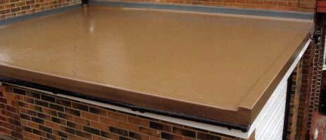 beautiful bronze grp flat roof