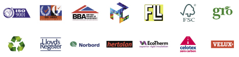 best flat roofs logos