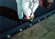 mechanically fixed roofing system