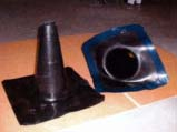 preformed epdm pipe sleeve