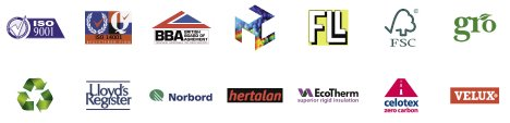best flat roof logos . . .